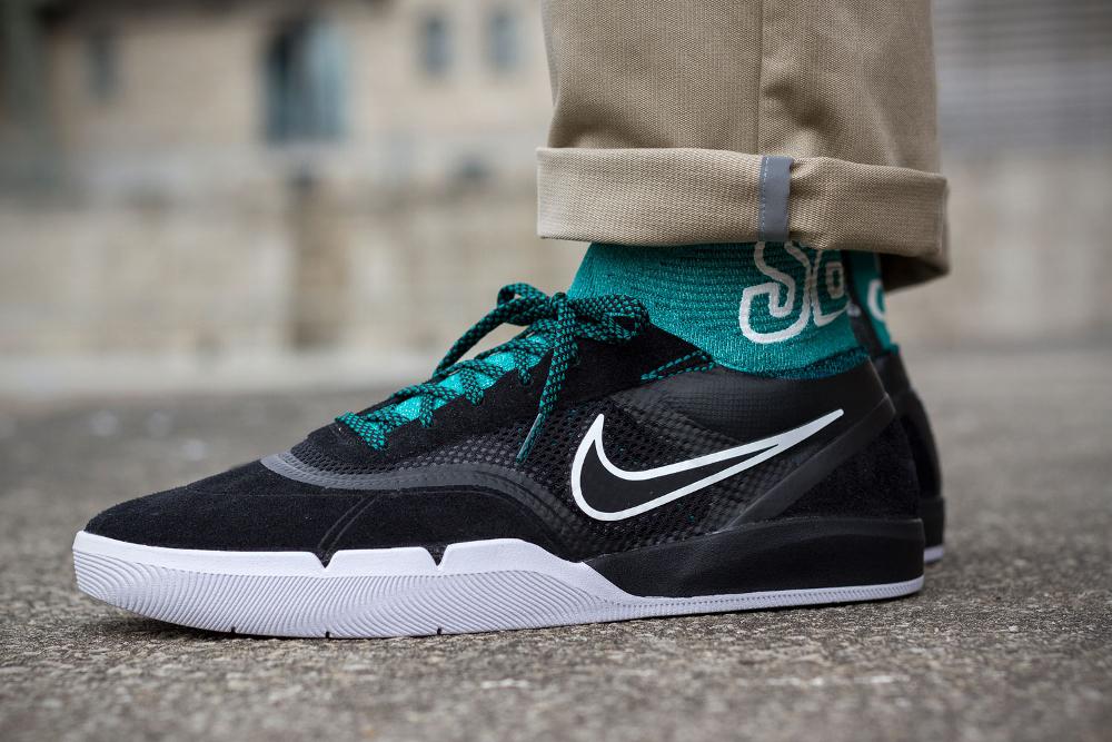 acheter chaussure Nike SB Eric Koston 3 Hyperfeel Flyknit 'Black Rio Teal' (2)