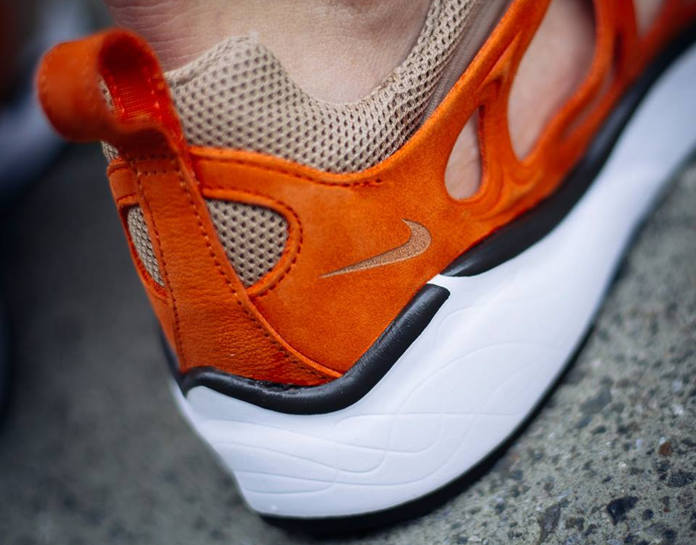 acheter chaussure NikeLab Air Zoom Chalapuka Tan Safety Orange (2)