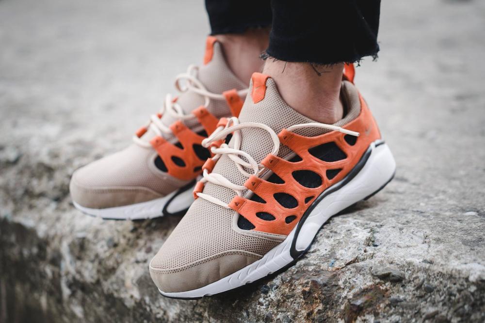 acheter chaussure NikeLab Air Zoom Chalapuka Tan Safety Orange (4)