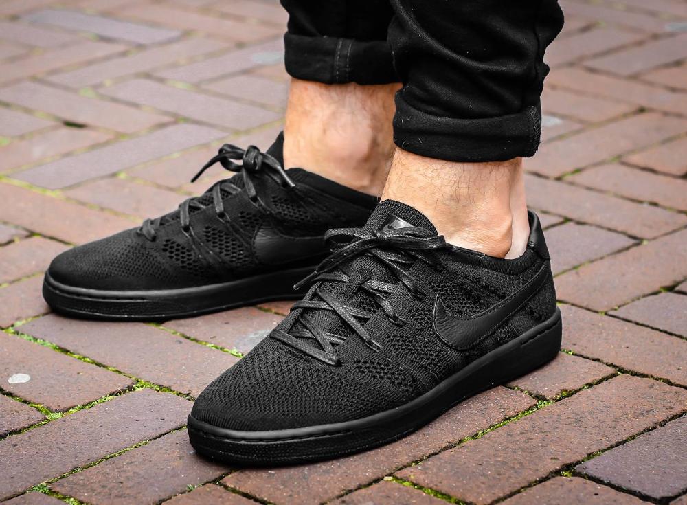 acheter chaussure Nikecourt Tennis Classic Ultra Flyknit 'Triple Black'
