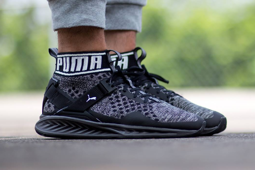 Puma Ignite Evoknit 'Black Quiet Shade'