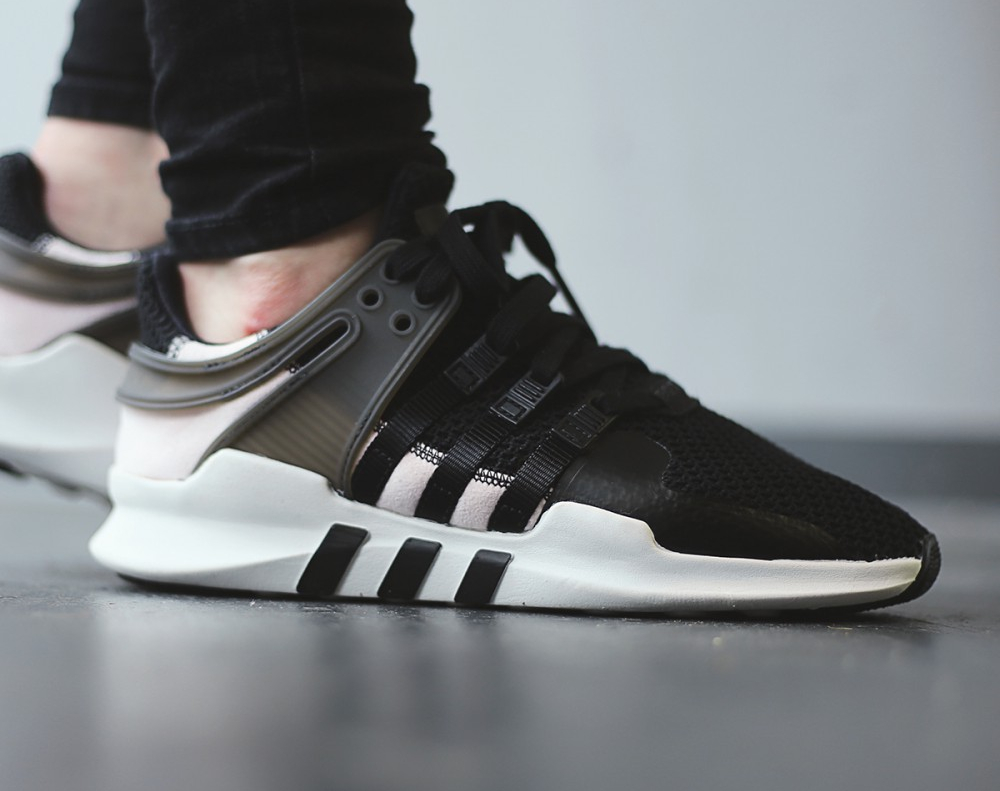 watch pretty cool pretty cheap Adidas Wmns EQT Support ADV 91-16 'Black Clear Pink'
