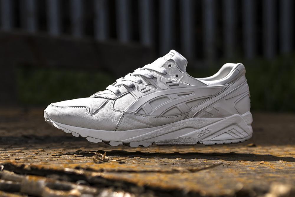 Size? x Asics Gel Kayano Trainer PRM 'Italian Leather White'