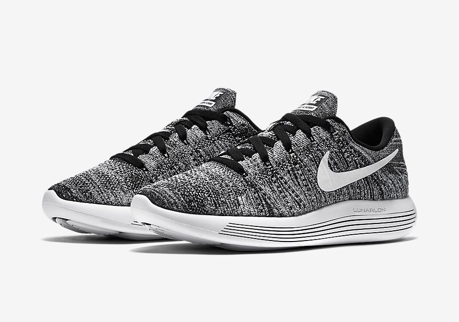 chaussure Nike Lunarepic Flyknit Low 'Oreo' (1)