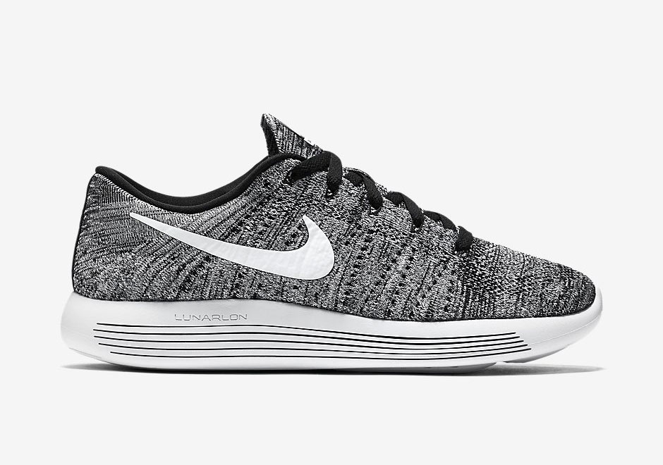 chaussure Nike Lunarepic Flyknit Low 'Oreo' (2)