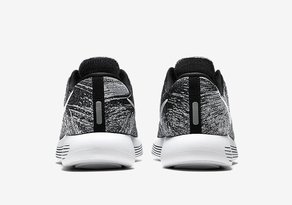 chaussure Nike Lunarepic Flyknit Low 'Oreo' (5)