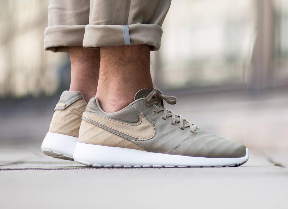 chaussure Nike Roshe Tiempo VI Quickstrike - Khaki Hay (1)