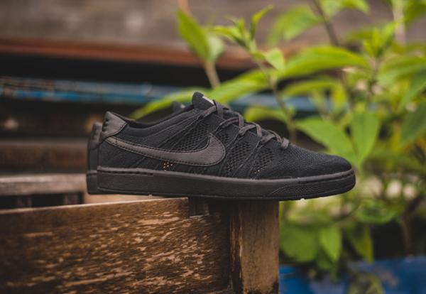 sale retailer 892b5 3b086 ... chaussure Nike Tennis Classic Ultra Flyknit noire (3) ...