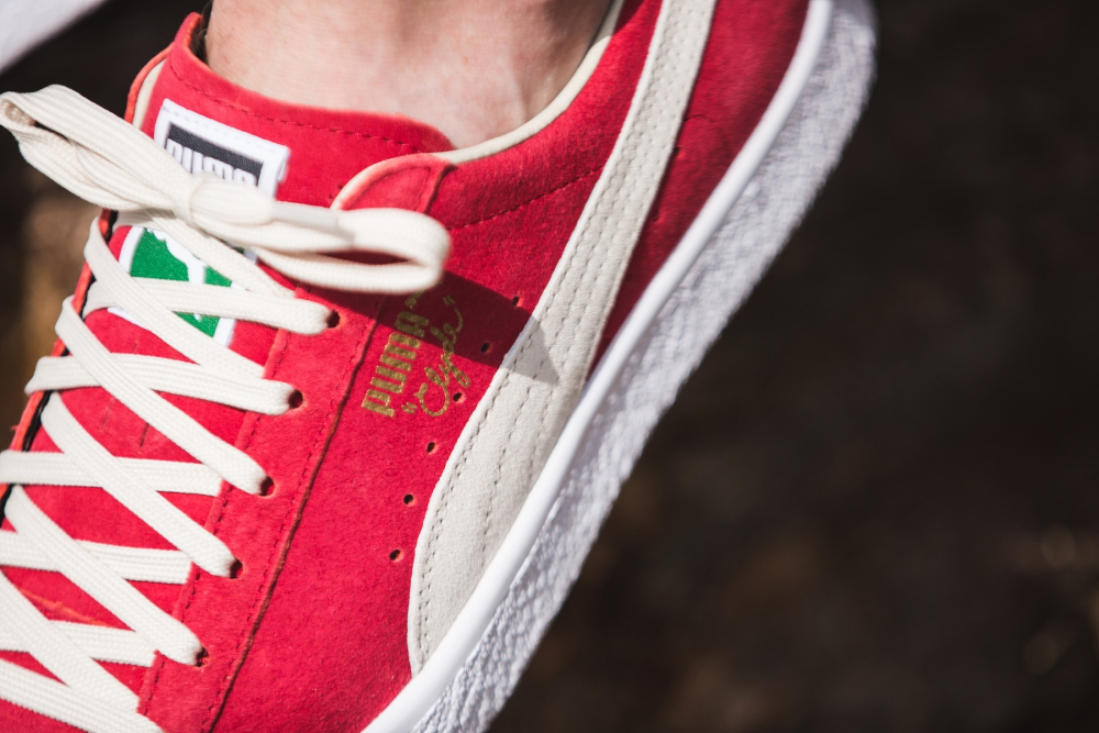 chaussure Puma Clyde OG Flag Barbados Cherry (2)