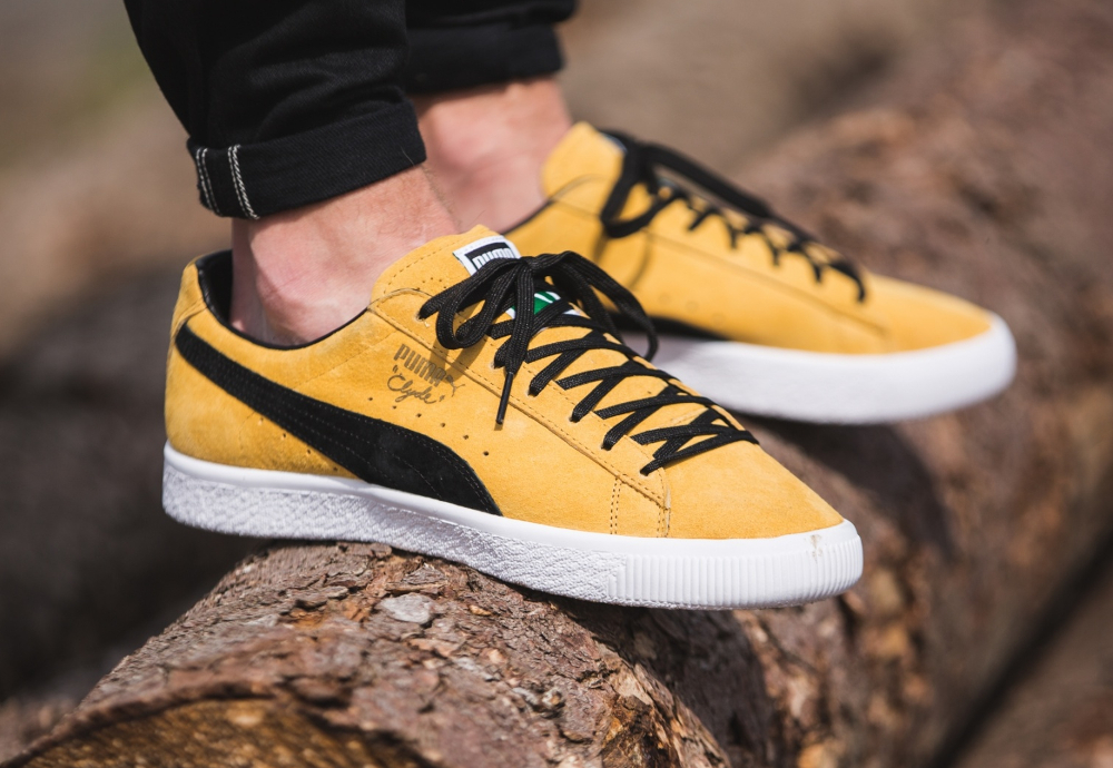 chaussure Puma Clyde OG Flag Bright Gold (1-1)