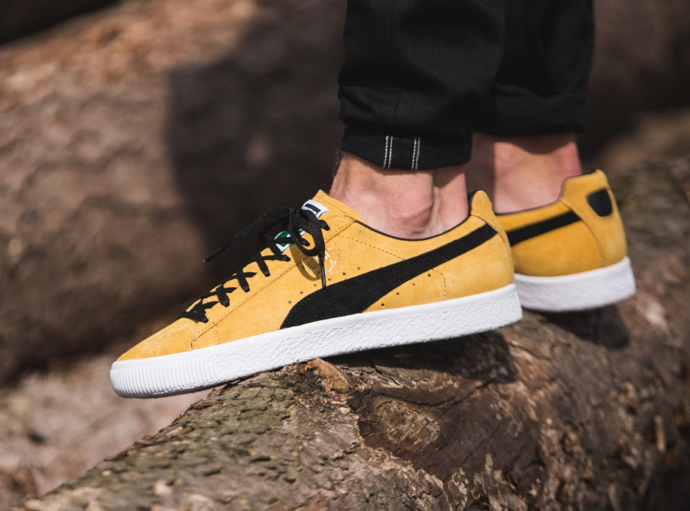 chaussure Puma Clyde OG Flag Bright Gold (3-1)