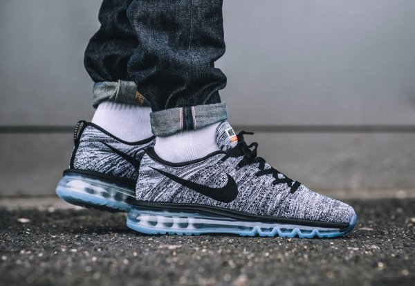 premium selection f6f1c e442b Nike Flyknit Air Max 'Oreo' Black White 2016 (homme)