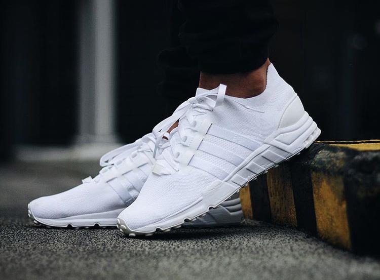 Adidas EQT Support 93 Primeknit Triple White - @eskalizer187