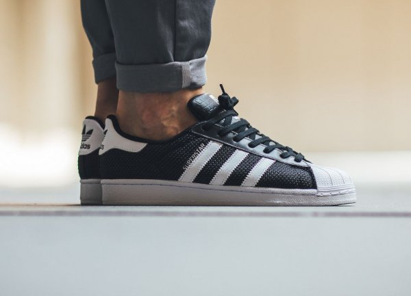 La collection Adidas Superstar 'Circular Knit'