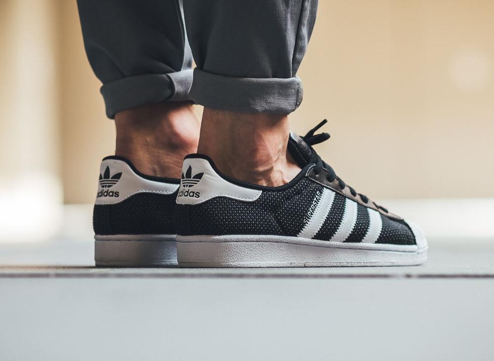 Adidas Superstar Circular Knit CK Core Black (3)