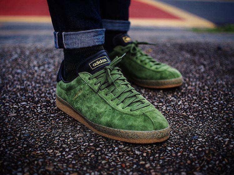 Adidas Topanga Clean Suede Green - @rob_o_sully (1)
