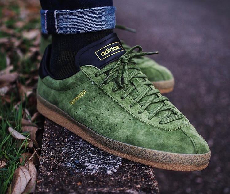 Adidas Topanga Clean Suede Green - @rob_o_sully
