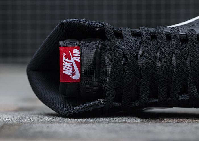 Air Jordan 1 Retro High OG Yang Black (noire) (2)