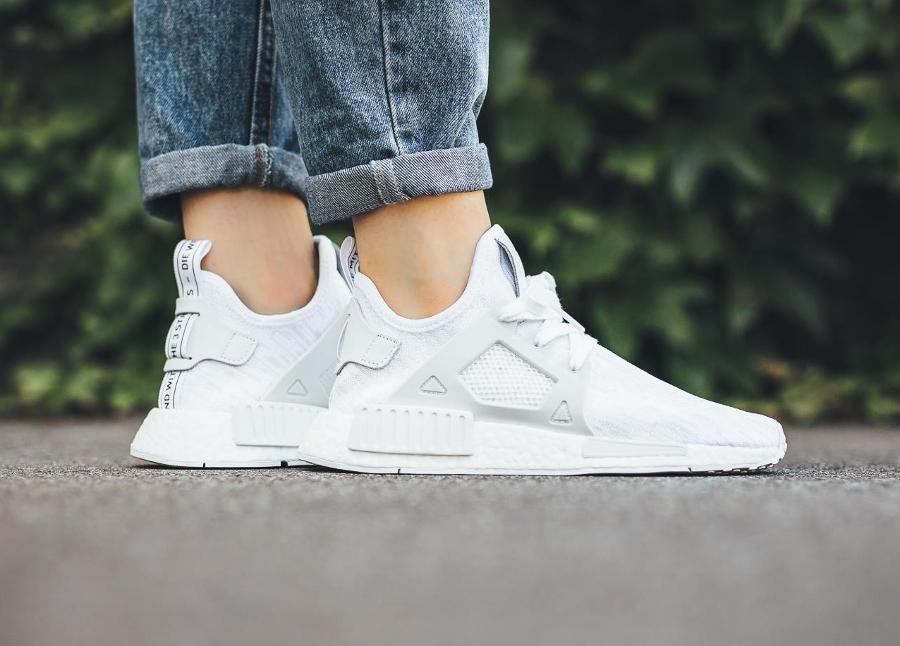 adidas xr1 blanche