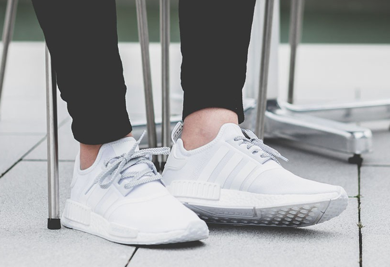 chaussure nmd blanche