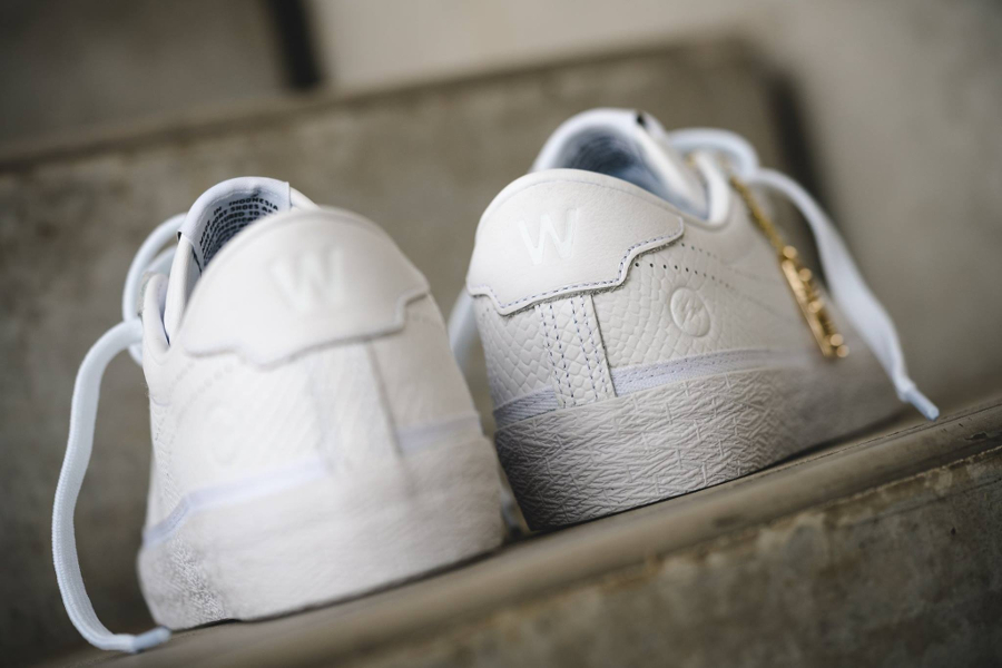 Chaussure Fragment Design x Nike Zoom Tennis Classic White Reptile (2)