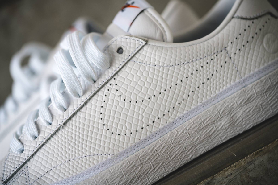 Chaussure Fragment Design x Nike Zoom Tennis Classic White Reptile (3)