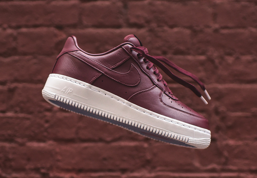 Chaussure Nike Air Force 1 Low Premium Night Maroon (1)