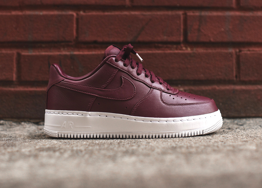 Chaussure Nike Air Force 1 Low Premium Night Maroon (3)