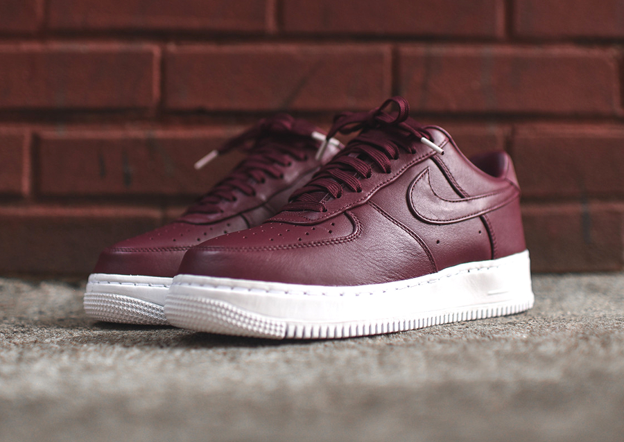 Chaussure Nike Air Force 1 Low Premium Night Maroon (4)