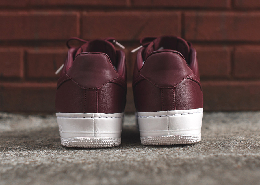 Chaussure Nike Air Force 1 Low Premium Night Maroon (5)