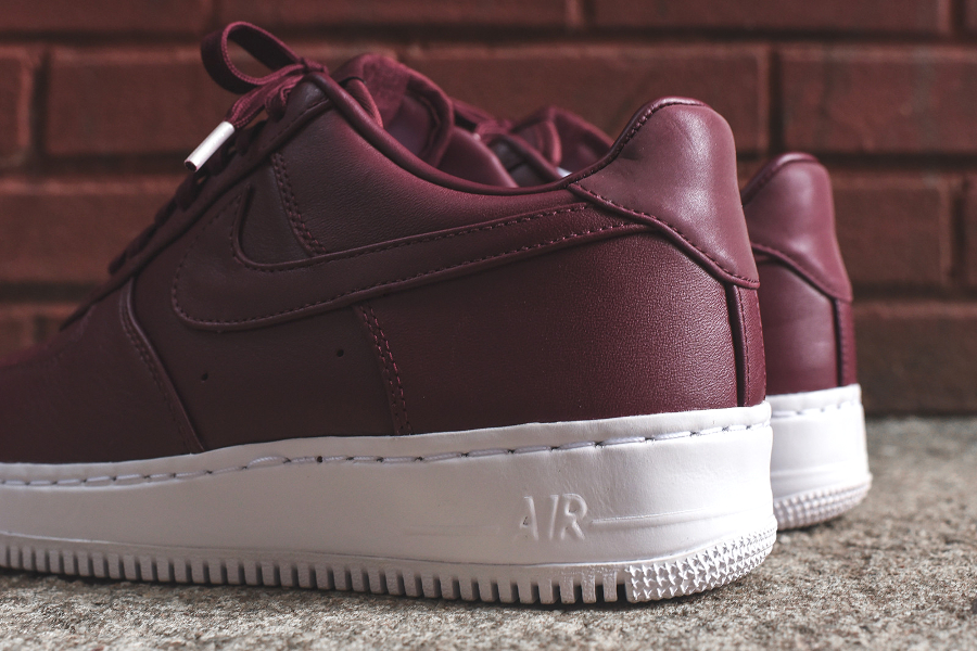 Chaussure Nike Air Force 1 Low Premium Night Maroon (7)