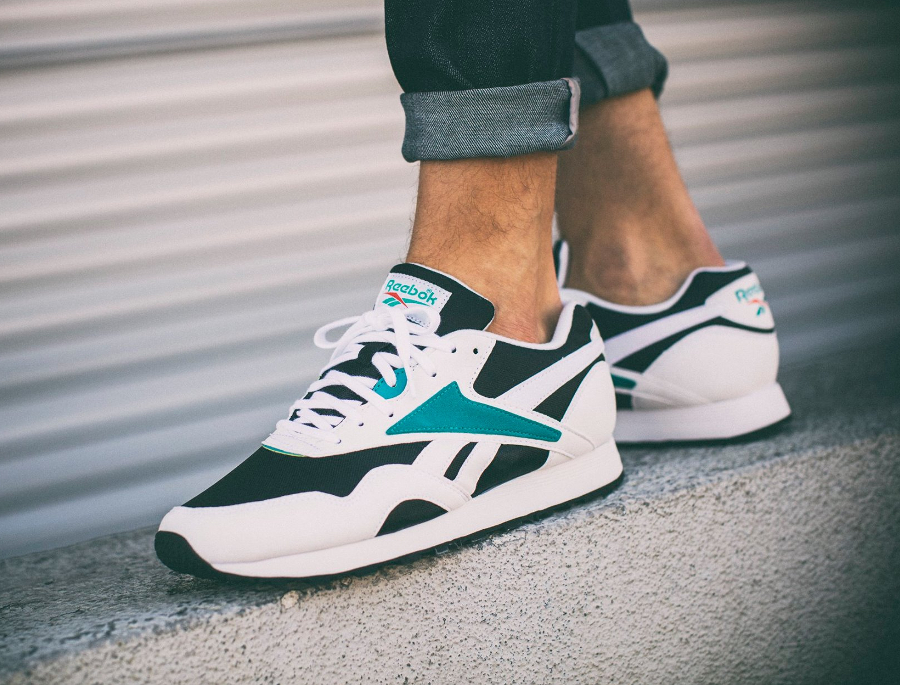 58d52943993 Chaussure basket Reebok Rapid OG Teal Gem 2016