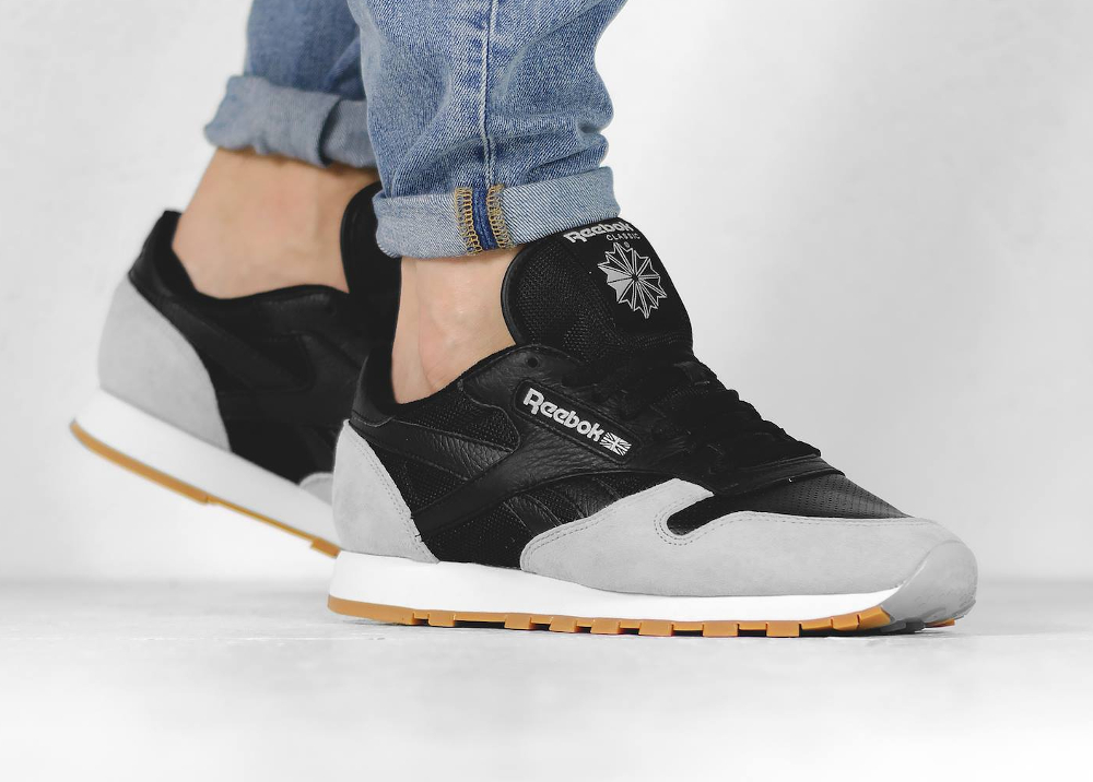 Kendrick Lamar x Reebok Classic Leather Perfect Split Black Cloud Grey Gum (4)