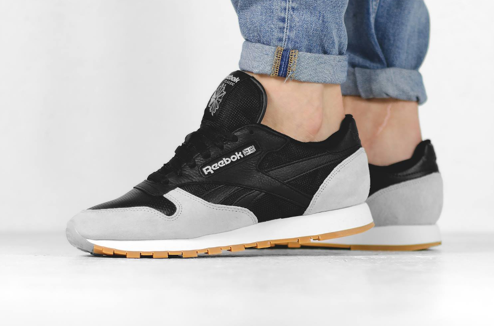 Kendrick Lamar x Reebok Classic Leather Perfect Split Black Cloud Grey Gum (5)