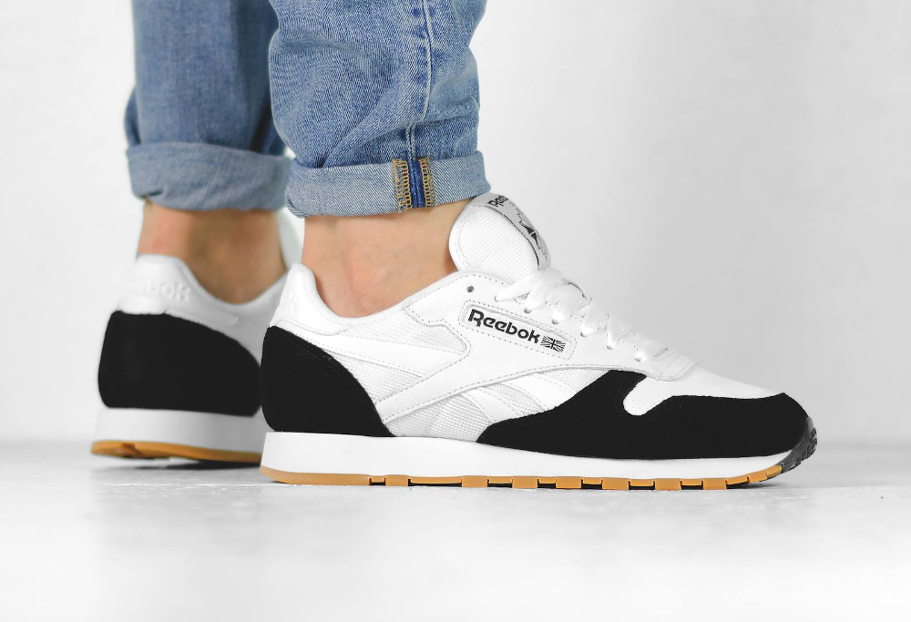 Kendrick Lamar x Reebok Classic Leather 'Perfect Split' Black White Gum (4)