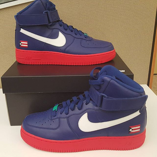 Nike Air Force 1 High ID Puerto Rico - @brooklyn_ca