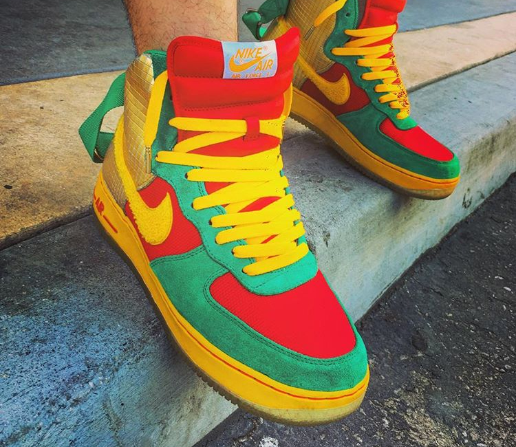 Nike Air Force 1 High ID Senegal - @afrokix