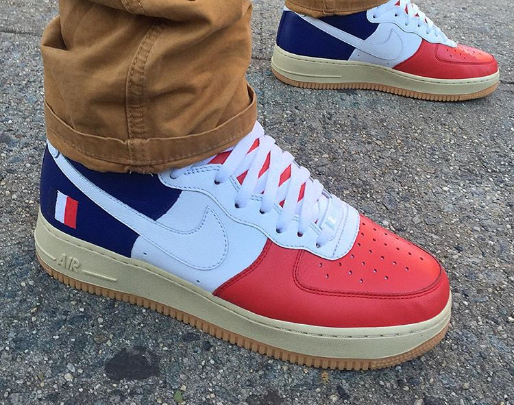 Nike Air Force 1 High ID Tricolor France - @rcclientele3