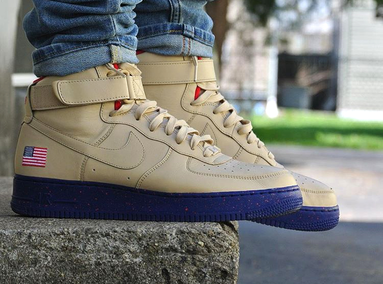 Nike Air Force 1 High ID USA Presidential - @i3rianf