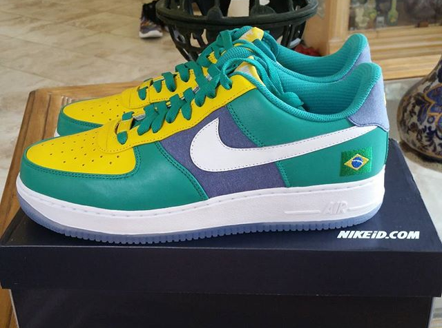 Nike Air Force 1 Low ID Brazil - @ericchar