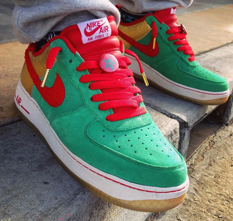 Nike Air Force 1 Low ID Morocco (Maroc) - @afrokix