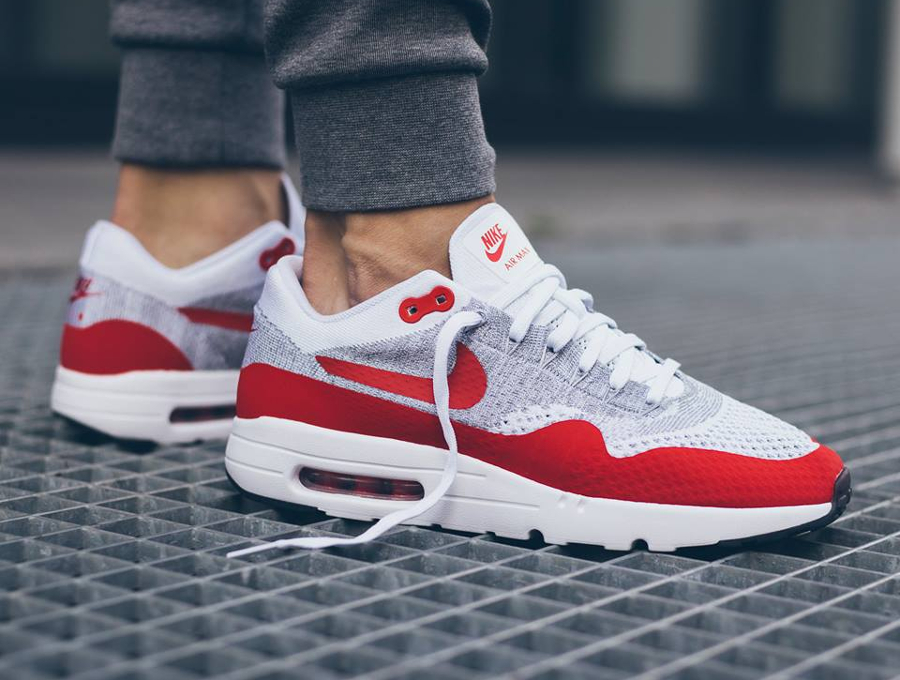 Nike Air Max 1 Ultra Flyknit OG Red (rouge)
