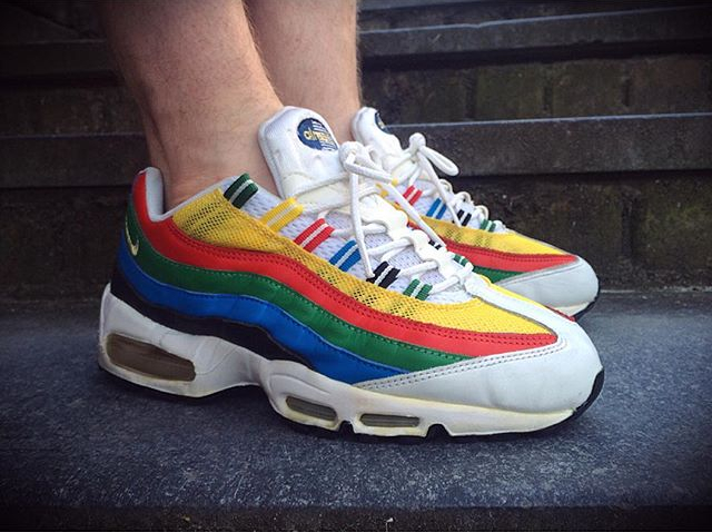 Nike Air Max 95 Olympic - @sands_spinnin
