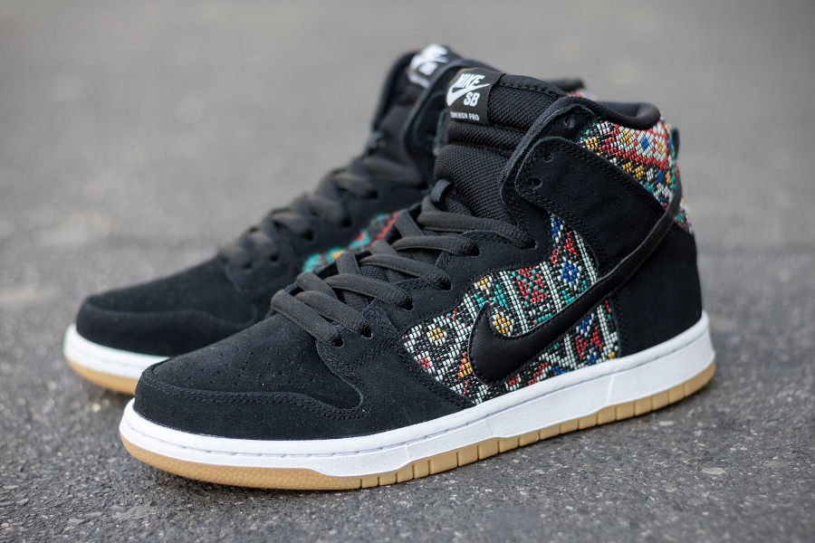 Nike Dunk High Pro SB Seat Cover Multicolor (3)