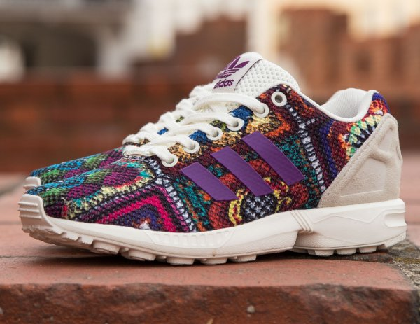 The Farm Company x Adidas ZX Flux W 'Mid Grape'