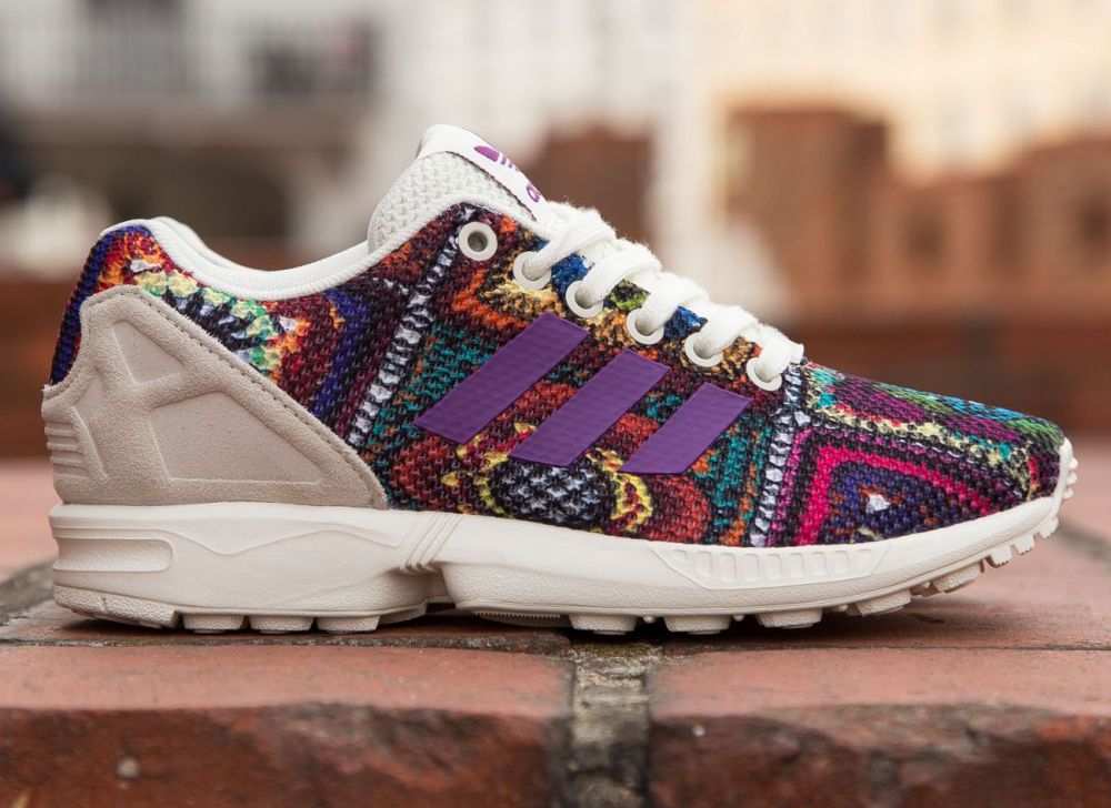 The Farm Company x Adidas ZX Flux W Mid Grape (3)