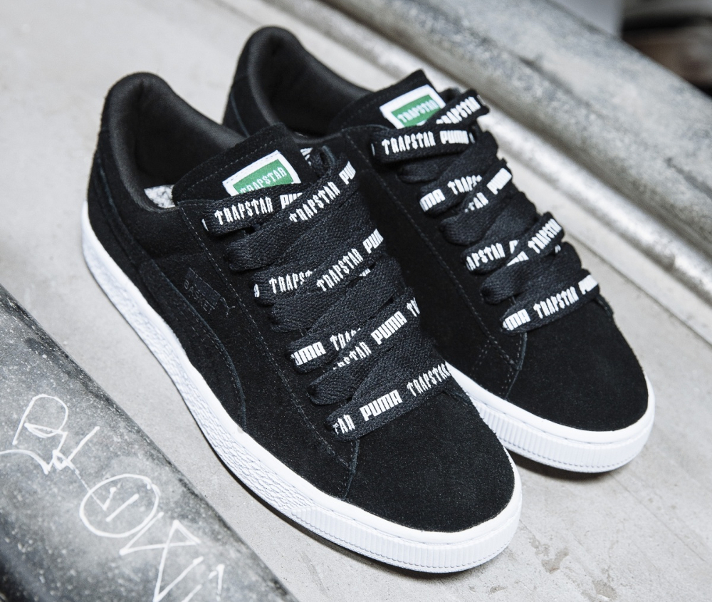 La collection Trapstar x Puma 'Fuzzy White Noise'