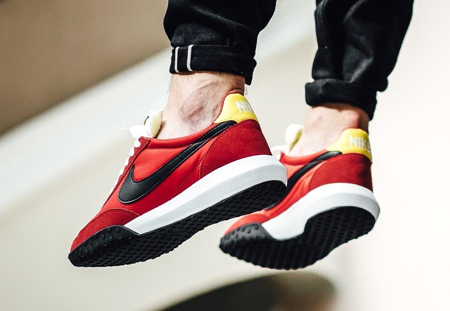 acheter Basket Nike Roshe Waffle Racer NM University Red (rouge) (2)