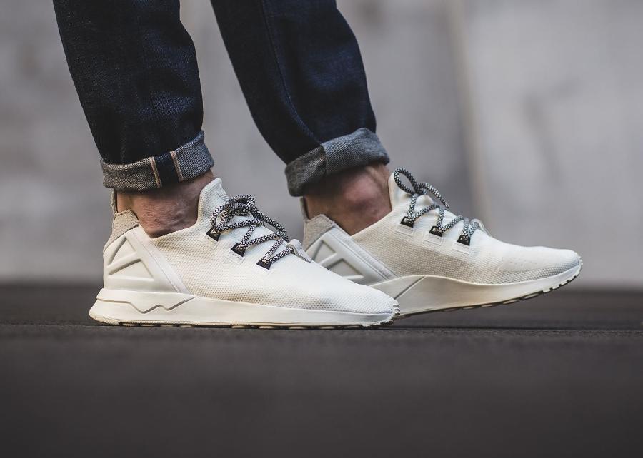 adidas zx flux mesh blanche