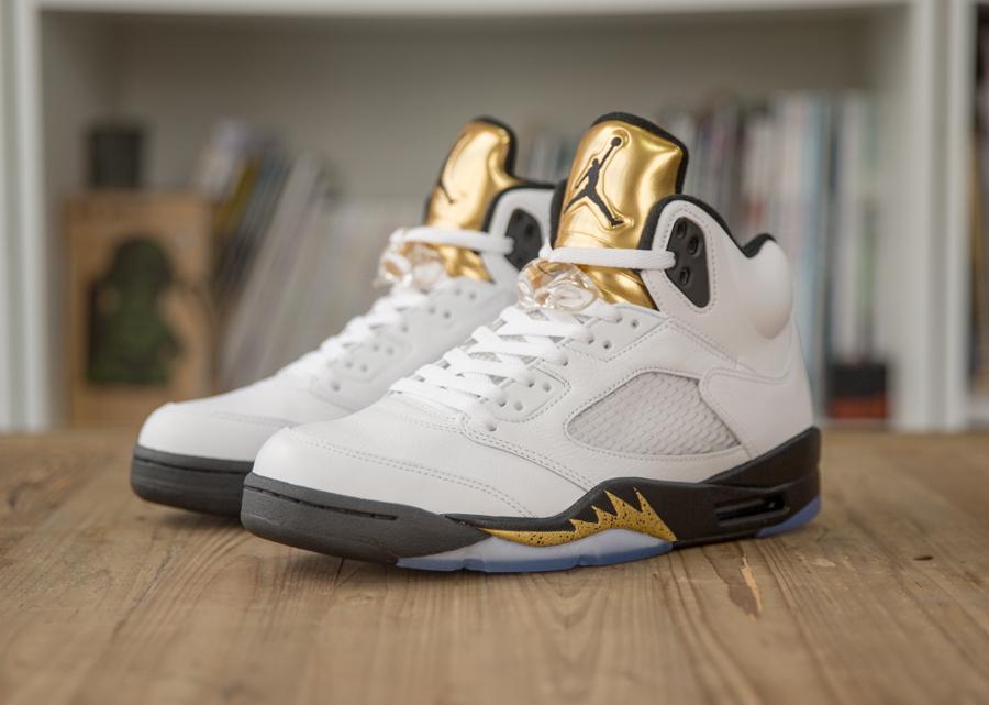 acheter basket Air Jordan 5 Olympic 'Golden Moments'